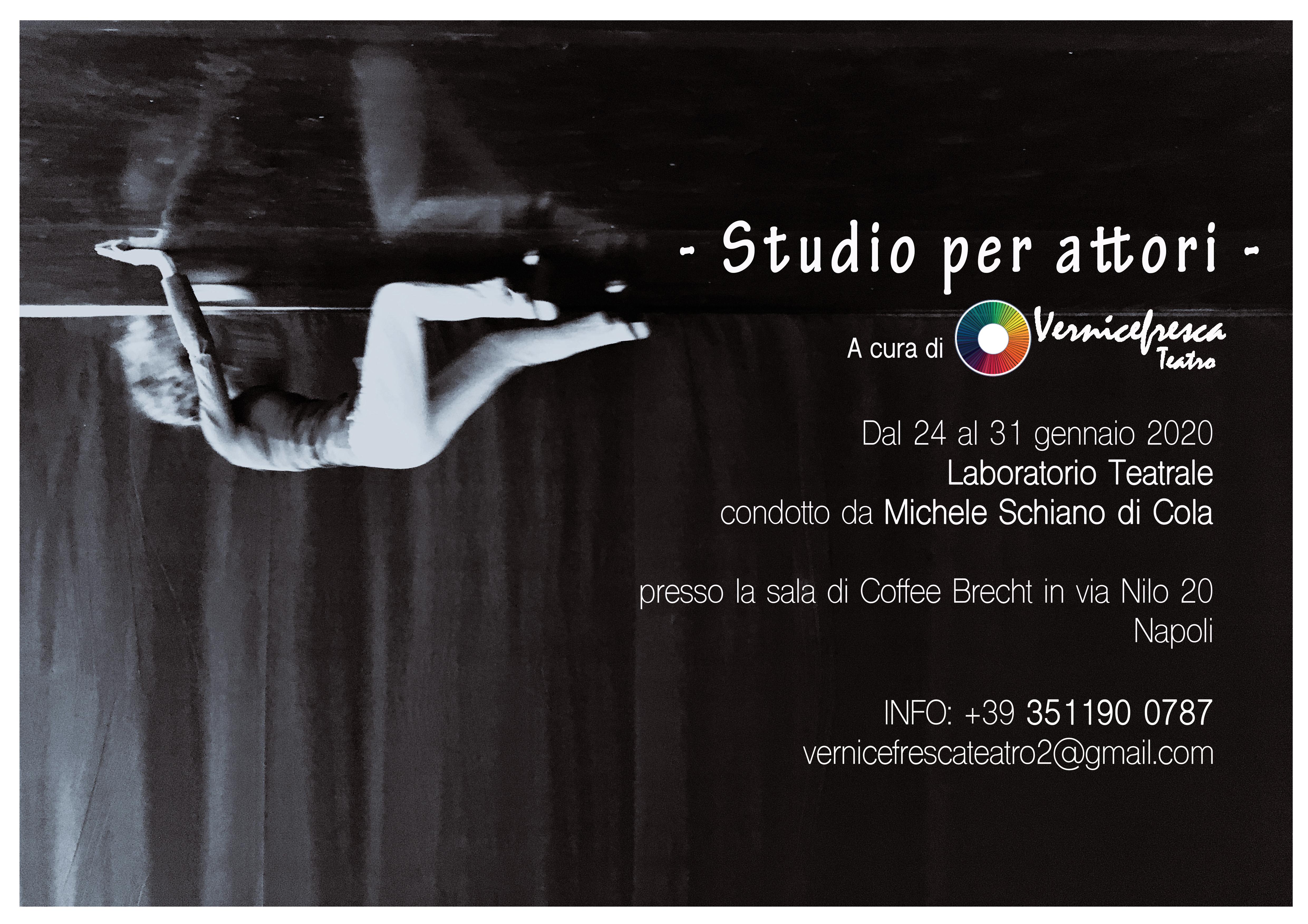 Laboratorio a cura di Michele Schiano di Cola – Studio per attori